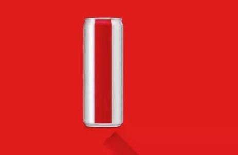 可口可乐新包装没有了LOGO 你还能认出来吗?