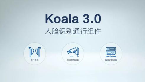 旷视Koala人脸识别通行组件上线新产品,创造楼宇管理智能化新高度