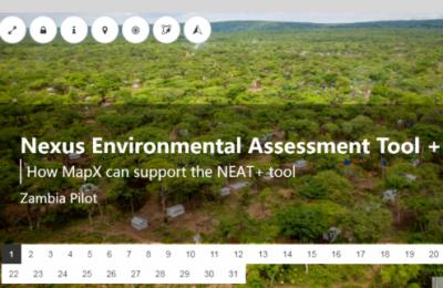 Nexus环境评估工具(NEAT +)可了解改善人道主义规划的环境数据