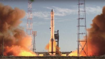 """俄罗斯火箭成功将""""光谱-RG""""太空望远镜送入轨道"""