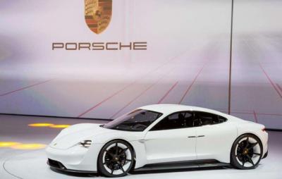 保时捷将于9月4日全球发布首款纯电动轿车Taycan 分羹豪华电动