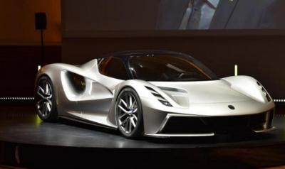 路特斯发布首款量产纯电动超级跑车 0-100km/h加速低于3秒