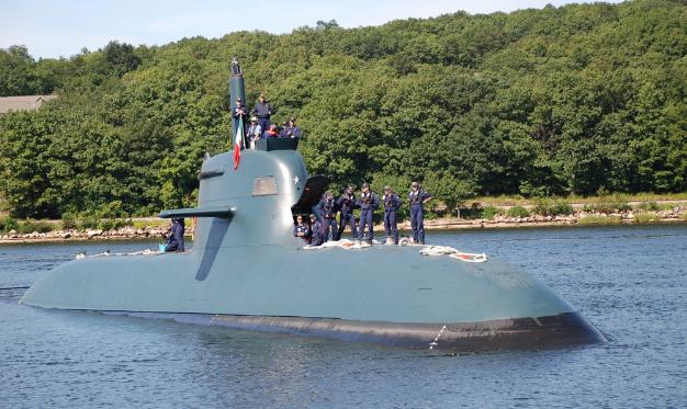 """中国公开新型""""无头""""潜艇,外媒推测:或采用锂电池驱动"""