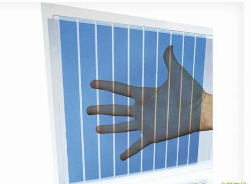 科学家研发出半透明的有机太阳能电池 将来窗户也能发电了