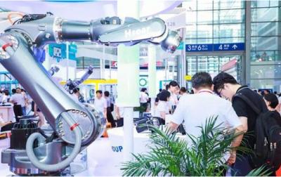 海尚集团展示六关节机器人等产品,矢量摆线减速机成焦点