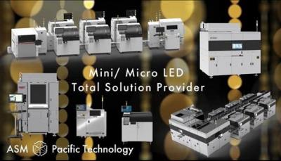 ASM太平洋提供Micro LED显示技术方案,加强芯片保护