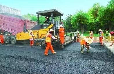 亚洲首个超百万平米橡胶沥青路面在京铺装 减少黑色污染