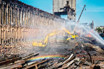 聚焦武钢拆焦炉 原址将修建转底炉环保设备进行固废处理