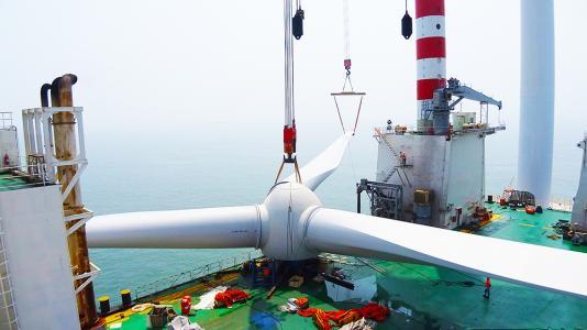 江苏海力海上风电装备制造厂主体工程基本建成