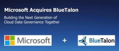 微软收购软件安全公司BlueTalon,简化现代化数据之间的数据隐私