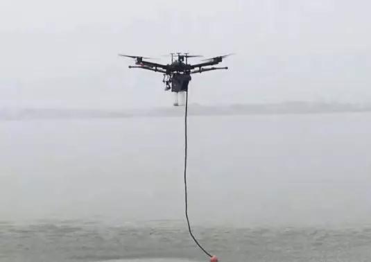 经纬M600 PRO搭载水样采集系统 水环境监测得力助手