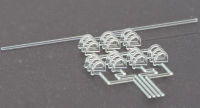 科学家研发石英玻璃微加工3D打印技术 实现复杂三维中空微结构