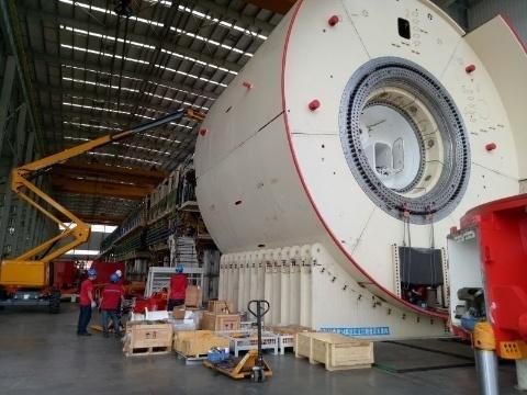 铁建重工大直径盾构机首次出口欧洲 8月验收下线运往日韩亚洲色情无码在线电影