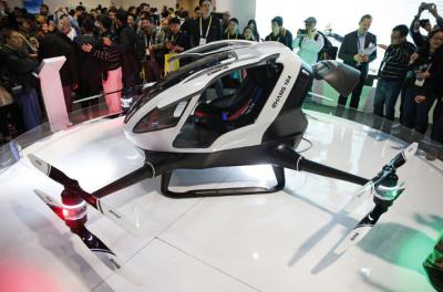 亿航将在广州部署飞行汽车服务 打造空中交通试点城市