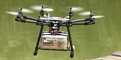 """无人机将解决城乡""""最后一公里"""" 农村快递网点覆盖率95%"""