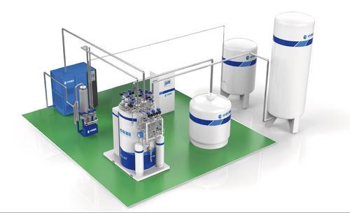 低温系统核心的设备氦制冷机 已入驻先进光源怀柔科学城