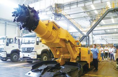 矿山机械市场趋于回暖 山东矿机煤炭机械贡献利润大