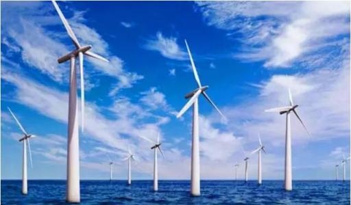 广东首个5MW级以上海上风电项目首批机组并网发电