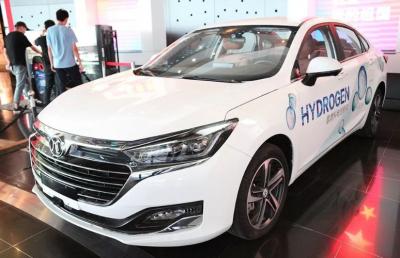 国创中心在绿色用车 环保出行科普展上首次展示氢燃料电池汽车
