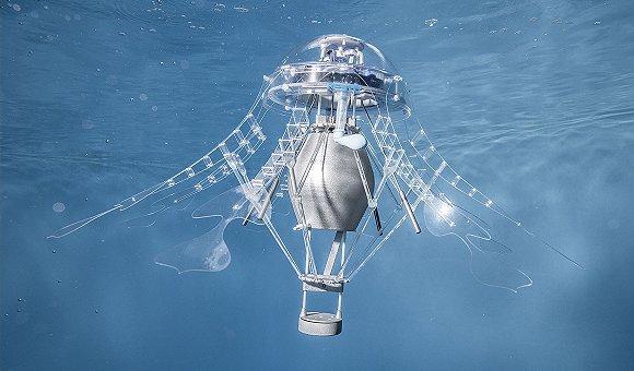 机器人水母,快递机器狗等仿生机器人闪亮世界机器人大会