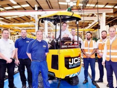 杰西博首款全电动超静音微型挖掘机上市 首批50台交付欧美客户