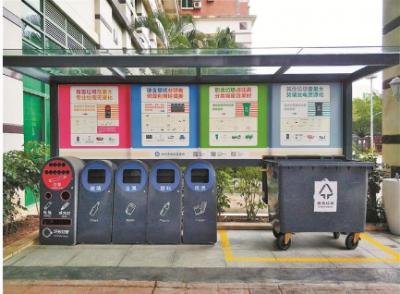 """深圳探索垃圾分类立法 垃圾处理费""""随袋征收""""居民需购置专用垃圾袋"""