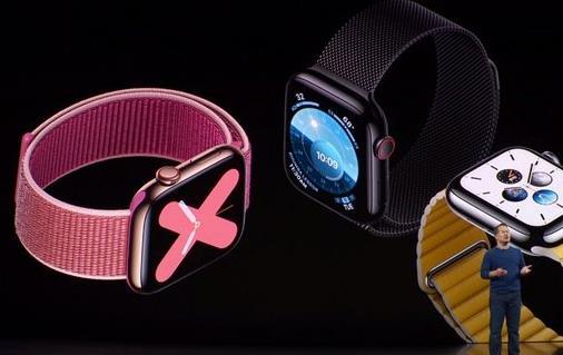 苹果第五代Apple Watch来了 加入心率监测功能!