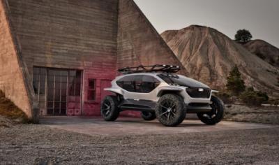 奥迪发布电动概念越野车:无人机大灯是亮点