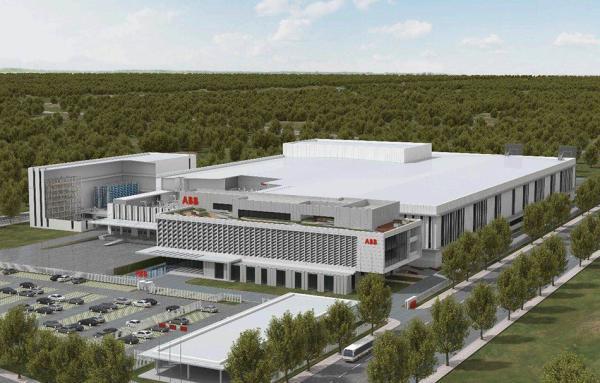 ABB机器人生产基地在上海康桥动工! 总投资10亿人民币