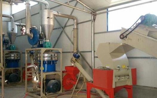 铝塑分离回收设备 完全采用机械分离方法