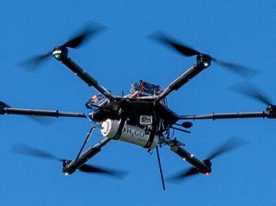 H2GO动力公司完成世界上首次3D打印氢动力无人机飞行