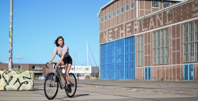 MX3D发布了由铝材料3D打印的自行车ARC BIKE II