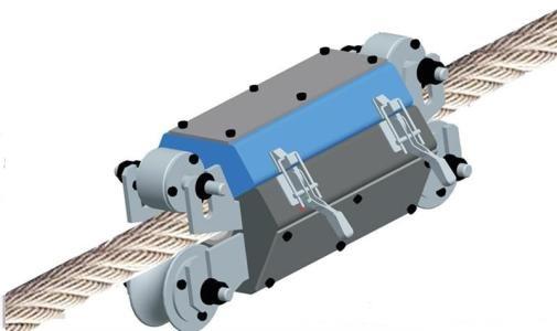 珠海检测院研发出无线式钢丝绳漏磁检测仪 拥有自主知识产权