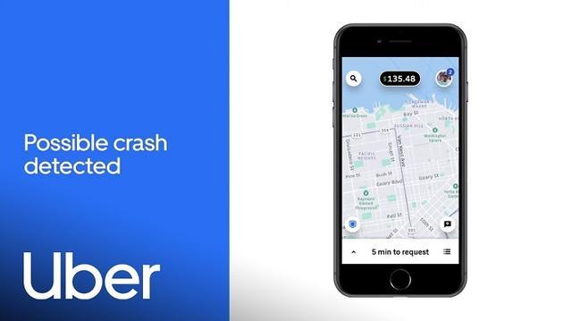 RideCheck功能再升级:Uber可借助手机传感器来检测意外事故
