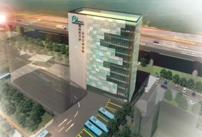 中集智慧停车再下一城!建设国内最大新能源公交机械智能立体停车库