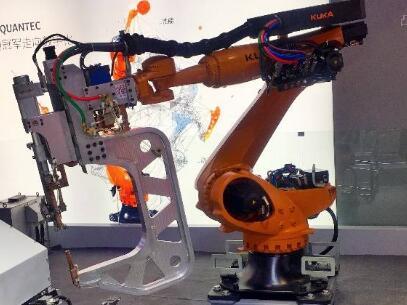 KUKA数字智能化机器人KR QUANTE-2工博会首发 助力工业4.0