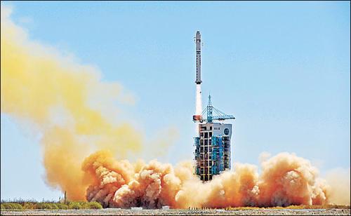 喜讯!中国成功发射资源一号02D卫星