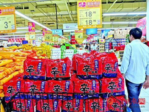 中国方便面年销量再上400亿份 价值创新造就面向未来的增长力