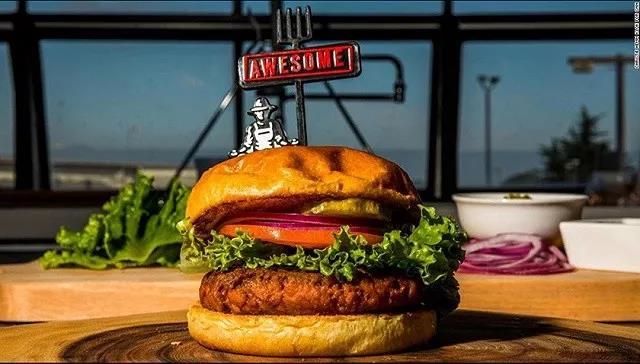 雀巢在美国推出了新的植物肉汉堡 主要成分是豌豆蛋白