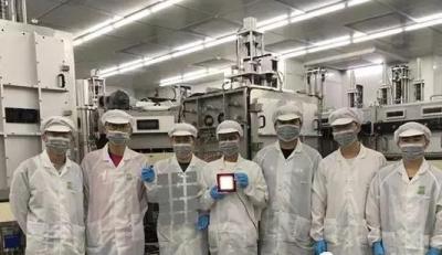 """拒絕""""卡脖子"""" 國內首條自主設計OLED照明G2.5代量產線成功點亮"""