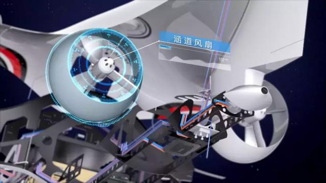 順豐固定翼垂直起降無人機國內首次亮相 滿滿的科技感