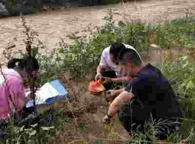 甘肃平凉市生态环境局庄浪分局积极开展生态环境监测工作
