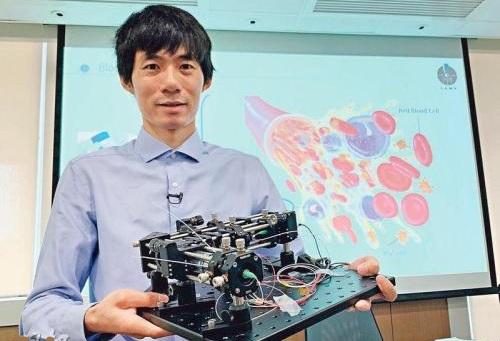 全球首部!港中大成功研制血液檢測AI便攜式顯微鏡 3至5年后或將商業化