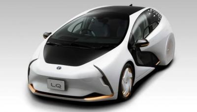 """豐田公布概念車""""LQ"""" 集人工智能和自動駕駛于一身"""
