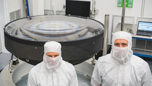 全球最大光學鏡頭已交付美國能源部的SLAC國家加速實驗室