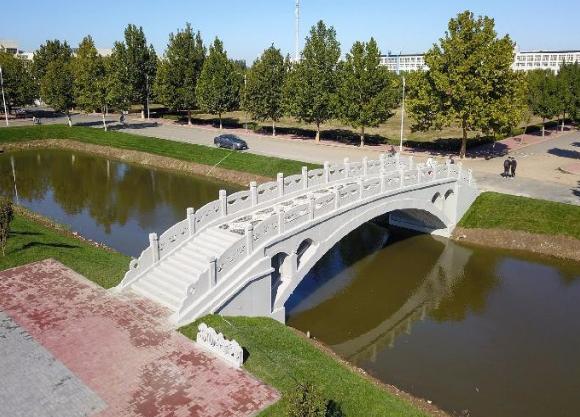 3D打印赵州桥现身河北工业大学