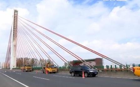 桥梁健康实时监测 苏州尹山斜拉桥装上神器