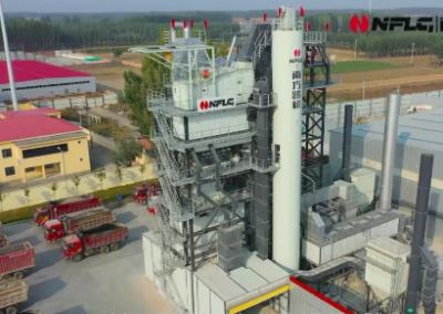 天津鼎华引进南方路机原再生一体式沥青混合料搅拌环保新设备