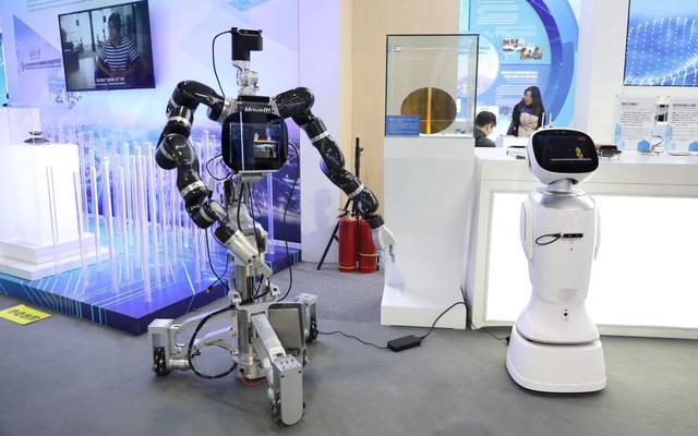 英特尔自适应机器人亮相中关村 机器人管家来了