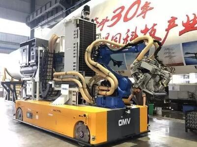 全球首款智能叶片打磨机器人下线!